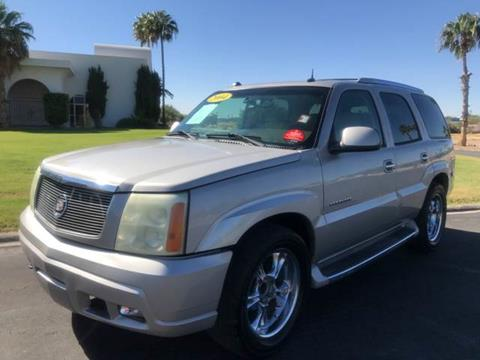 2004 Cadillac Escalade for sale at Tucson Used Auto Sales in Tucson AZ