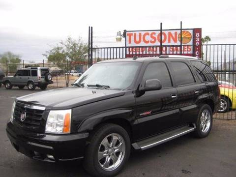 2006 Cadillac Escalade for sale at Tucson Used Auto Sales in Tucson AZ
