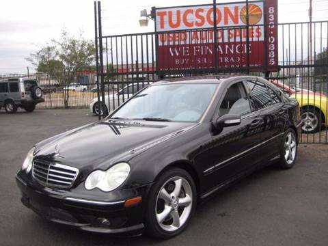 2006 Mercedes-Benz C-Class for sale at Tucson Used Auto Sales in Tucson AZ