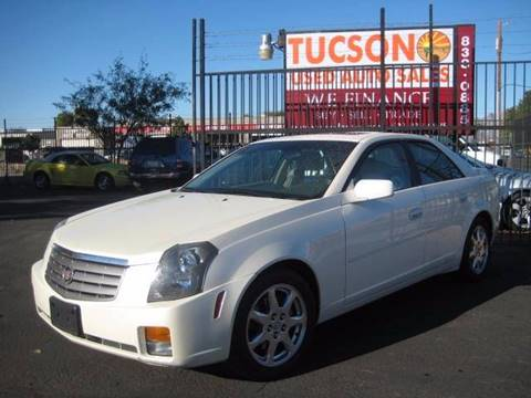 2003 Cadillac CTS for sale at Tucson Used Auto Sales in Tucson AZ