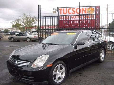 2004 Infiniti G35 for sale at Tucson Used Auto Sales in Tucson AZ