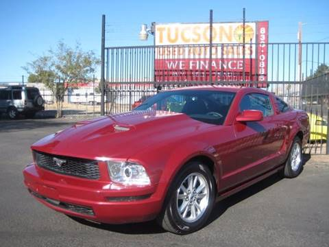 2009 Ford Mustang for sale at Tucson Used Auto Sales in Tucson AZ