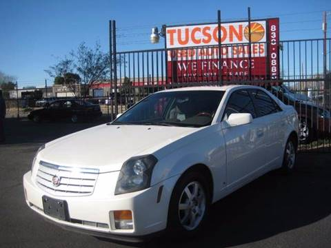 2007 Cadillac CTS for sale at Tucson Used Auto Sales in Tucson AZ