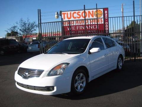 2007 Nissan Altima for sale at Tucson Used Auto Sales in Tucson AZ