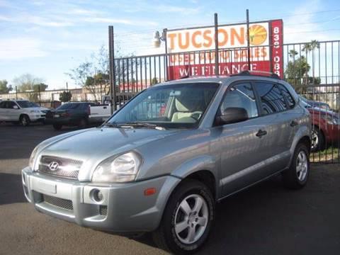 2005 Hyundai Tucson for sale at Tucson Used Auto Sales in Tucson AZ