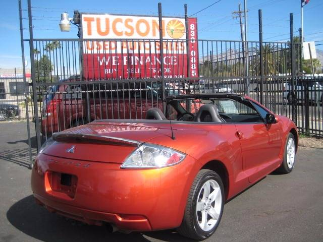 2007 Mitsubishi Eclipse Spyder for sale at Tucson Used Auto Sales in Tucson AZ