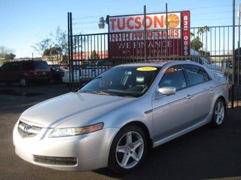 2004 Acura TL for sale at Tucson Used Auto Sales in Tucson AZ