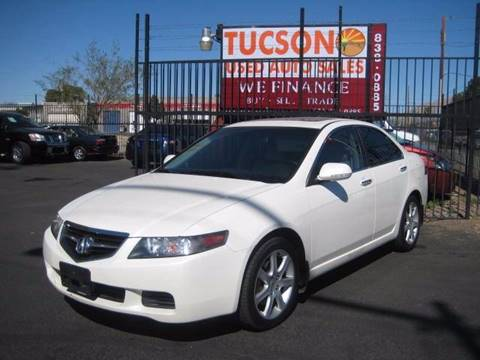 2005 Acura TSX for sale at Tucson Used Auto Sales in Tucson AZ
