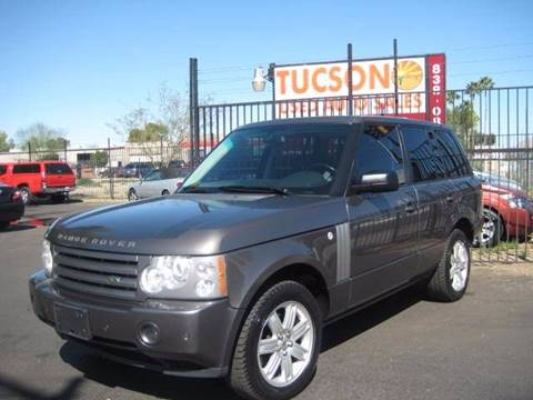 2006 Land Rover Range Rover for sale at Tucson Used Auto Sales in Tucson AZ