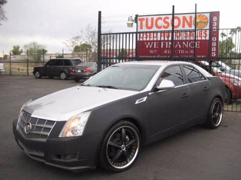 2008 Cadillac CTS for sale at Tucson Used Auto Sales in Tucson AZ