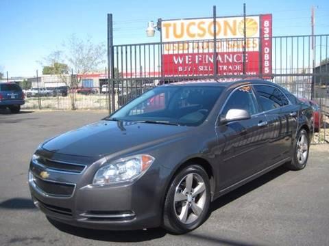 2012 Chevrolet Malibu for sale at Tucson Used Auto Sales in Tucson AZ