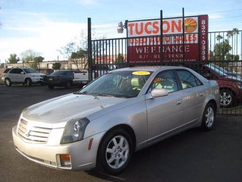 2005 Cadillac CTS for sale at Tucson Used Auto Sales in Tucson AZ