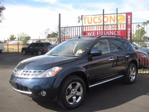 2006 Nissan Murano for sale at Tucson Used Auto Sales in Tucson AZ