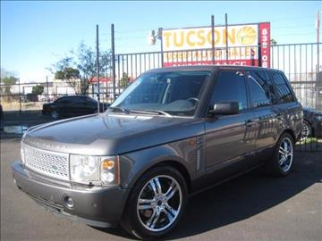 2005 Land Rover Range Rover for sale at Tucson Used Auto Sales in Tucson AZ