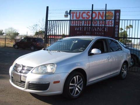2006 Volkswagen Jetta for sale at Tucson Used Auto Sales in Tucson AZ