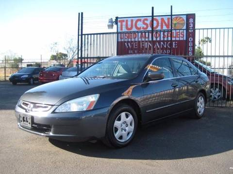 2005 Honda Accord for sale at Tucson Used Auto Sales in Tucson AZ