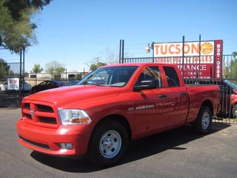 2012 RAM Ram Pickup 1500 for sale at Tucson Used Auto Sales in Tucson AZ
