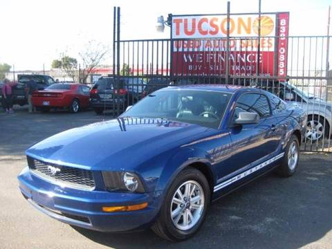 2006 Ford Mustang for sale at Tucson Used Auto Sales in Tucson AZ