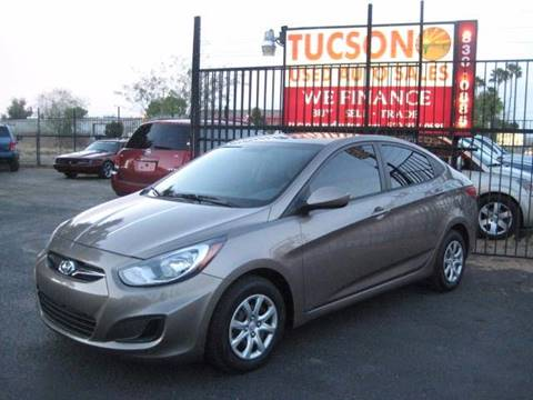 2013 Hyundai Accent for sale at Tucson Used Auto Sales in Tucson AZ