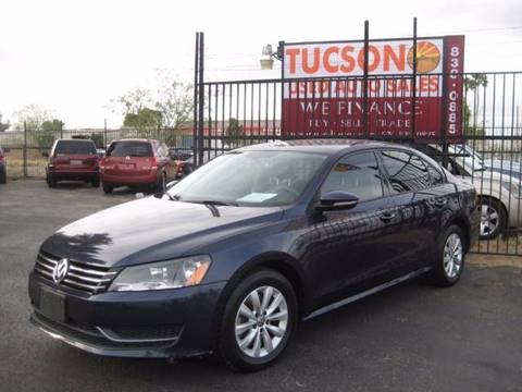 2012 Volkswagen Passat for sale at Tucson Used Auto Sales in Tucson AZ