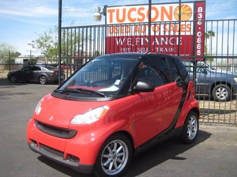 2009 Smart fortwo for sale at Tucson Used Auto Sales in Tucson AZ