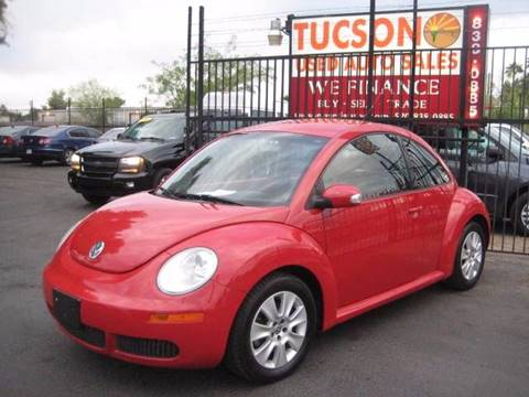 2008 Volkswagen New Beetle for sale at Tucson Used Auto Sales in Tucson AZ