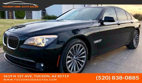 BMW Of Tucson >> 2011 Bmw 7 Series For Sale In Tucson Az