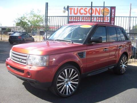 2006 Land Rover Range Rover Sport for sale at Tucson Used Auto Sales in Tucson AZ