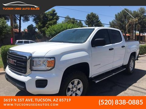 2015 GMC Canyon for sale in Tucson, AZ