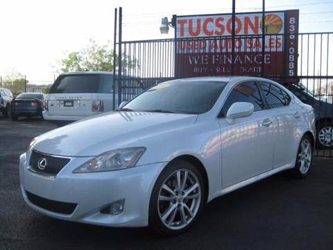 2006 Lexus IS 250 for sale at Tucson Used Auto Sales in Tucson AZ