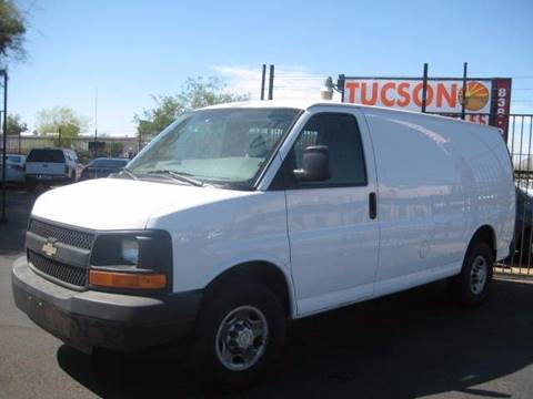 2007 Chevrolet Express Cargo for sale at Tucson Used Auto Sales in Tucson AZ