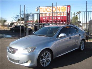 2006 Lexus IS 350 for sale at Tucson Used Auto Sales in Tucson AZ