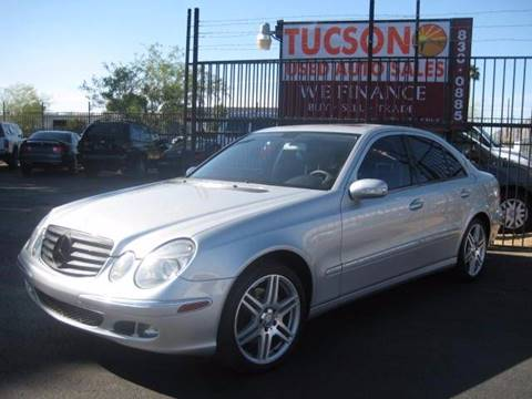 2005 Mercedes-Benz E-Class for sale at Tucson Used Auto Sales in Tucson AZ