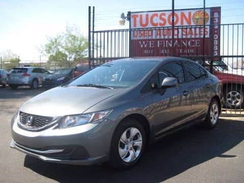 2013 Honda Civic for sale at Tucson Used Auto Sales in Tucson AZ