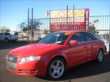 2007 Audi A4 for sale at Tucson Used Auto Sales in Tucson AZ