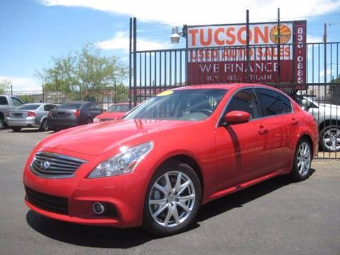 2010 Infiniti G37 Sedan for sale at Tucson Used Auto Sales in Tucson AZ