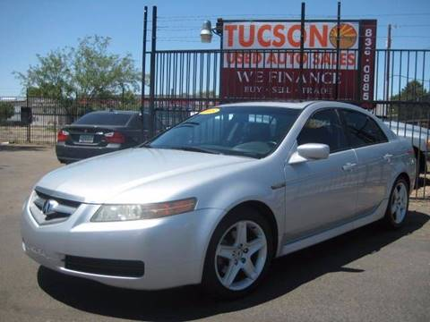 2005 Acura TL for sale at Tucson Used Auto Sales in Tucson AZ