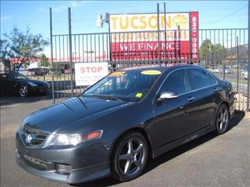 2004 Acura TSX for sale at Tucson Used Auto Sales in Tucson AZ