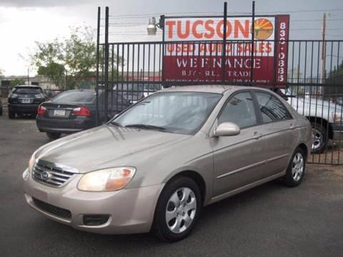 2007 Kia Spectra for sale at Tucson Used Auto Sales in Tucson AZ