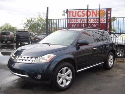 2007 Nissan Murano for sale at Tucson Used Auto Sales in Tucson AZ