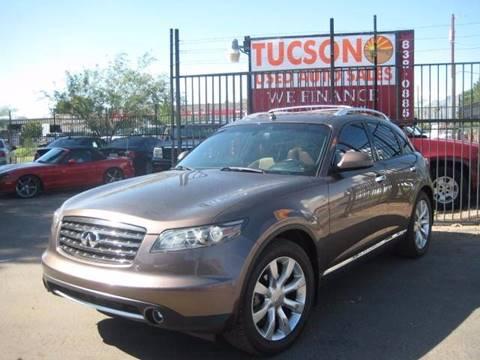 2007 Infiniti FX35 for sale at Tucson Used Auto Sales in Tucson AZ