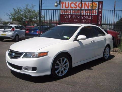 2007 Acura TSX for sale at Tucson Used Auto Sales in Tucson AZ
