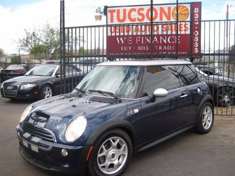 2006 MINI Cooper for sale at Tucson Used Auto Sales in Tucson AZ