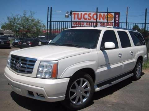 2006 Cadillac Escalade ESV for sale at Tucson Used Auto Sales in Tucson AZ