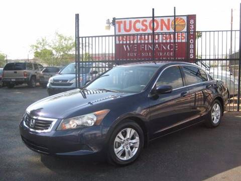 2008 Honda Accord for sale at Tucson Used Auto Sales in Tucson AZ