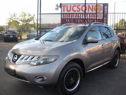 2009 Nissan Murano for sale at Tucson Used Auto Sales in Tucson AZ
