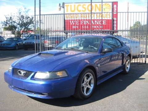 2004 Ford Mustang for sale at Tucson Used Auto Sales in Tucson AZ