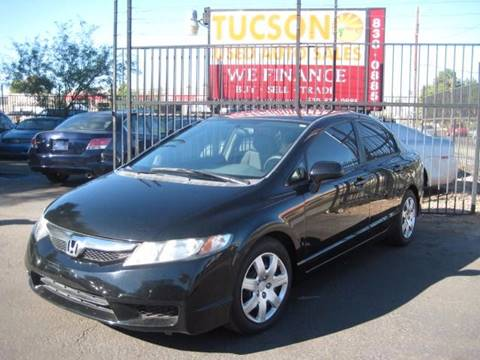 2010 Honda Civic for sale at Tucson Used Auto Sales in Tucson AZ