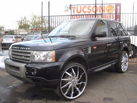 2008 Land Rover Range Rover Sport for sale at Tucson Used Auto Sales in Tucson AZ