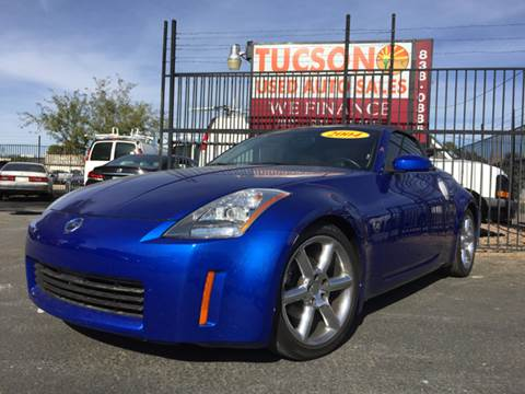 2004 Nissan 350Z for sale at Tucson Used Auto Sales in Tucson AZ
